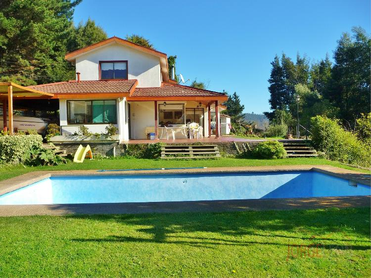 Venta de hermosa casa en parcela de 5000 m2 camino a - Parcela con casa ...