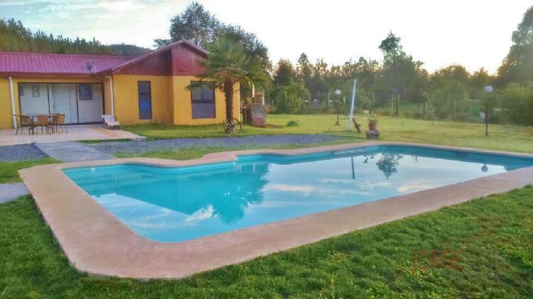 Venta de patagual casa parcela piscina 250 m2 en 5100 m2 venta casa parcela - Parcela con casa ...